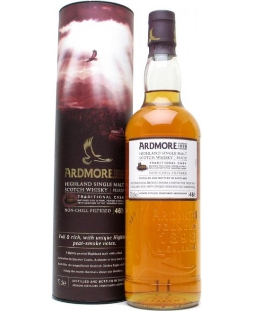 Ardmore Traditional Cask 0.7L Top