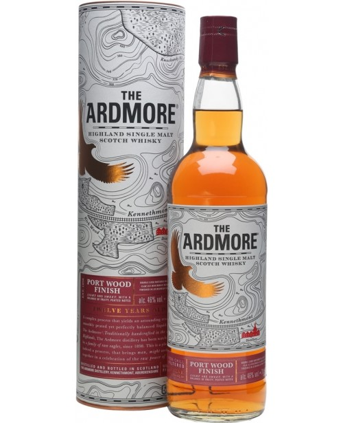 Ardmore 12 Ani Port Wood Finish 0.7L Top