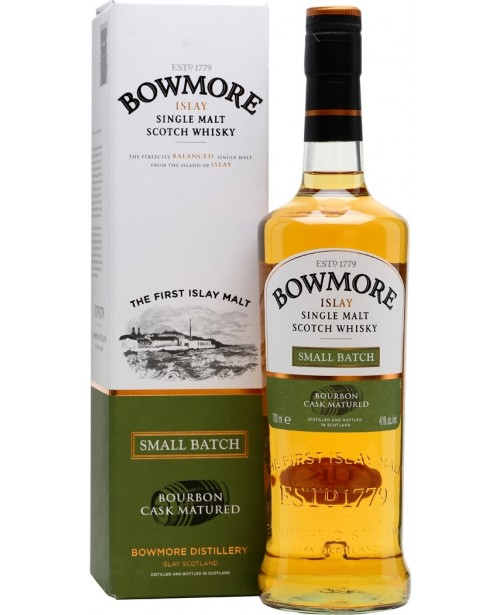 Bowmore Small Batch Bourbon Cask Matured 0.7L Top