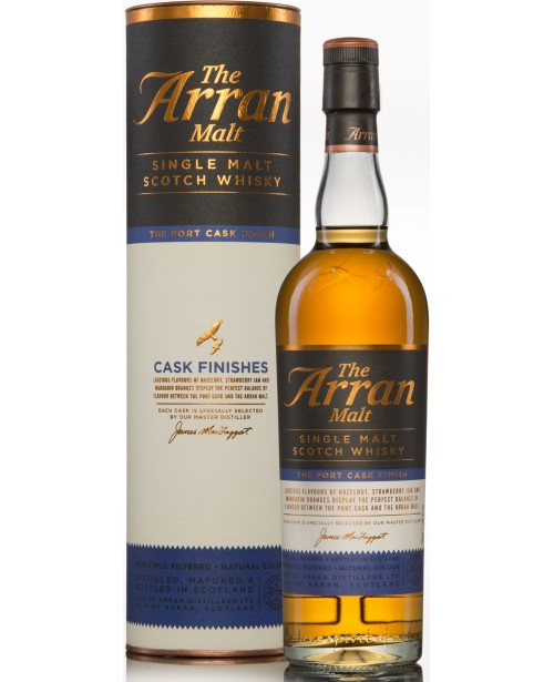 Arran Port Cask Finish 0.7L Top