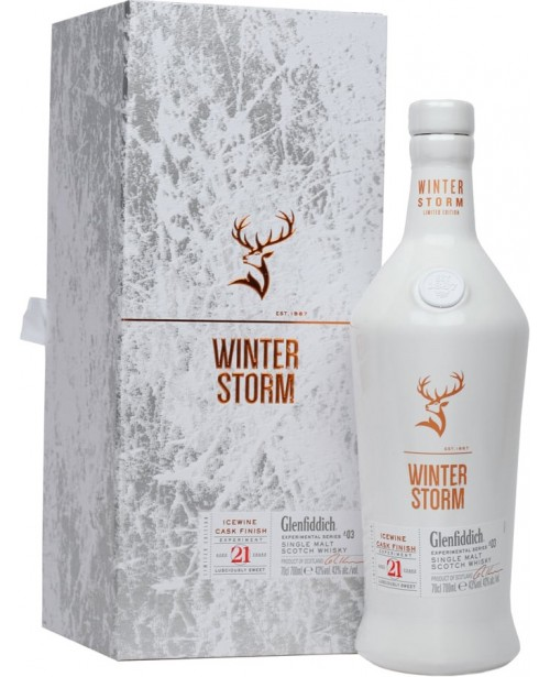 Glenfiddich 21 Ani Experimental Series Winter Storm 0.7L Top
