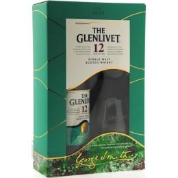 Glenlivet 12 Ani cu 2 Pahare 0.7L