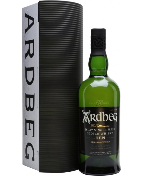 Ardbeg 10 Ani Warehouse Pack 0.7L Top