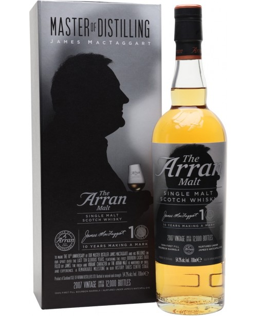 Arran James MacTaggart 10th Anniversary Edition 0.7L Top