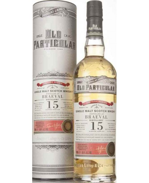 Braeval 15 Ani 2001 Old Particular 0.7L