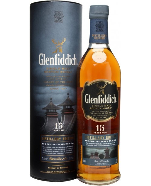 Glenfiddich 15 Ani Distillery Edition 1L Top