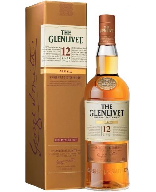 Glenlivet 12 Ani First Fill 0.7L Top