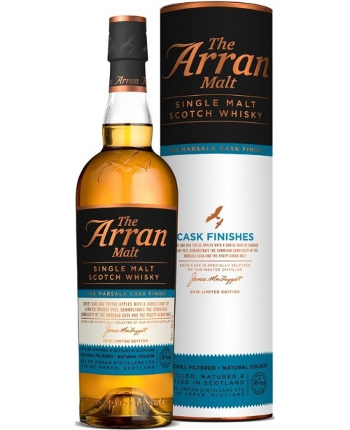 Arran The Marsala Cask Finish 0.7L Top