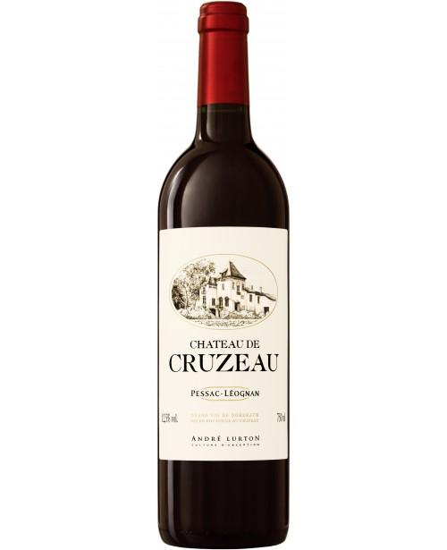 Andre Lurton Chateau de Cruzeau Rouge 0.75L Top