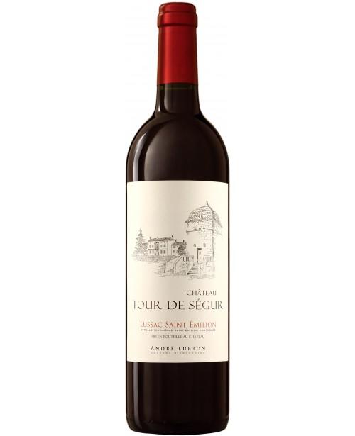 Andre Lurton Chateau Tour de Segur Rouge 0.75L Top