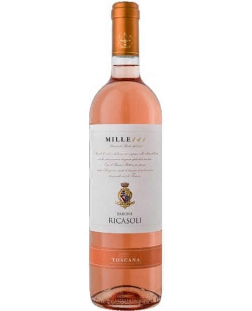 Barone Ricasoli Mile 141 Toscana Rose 0.75L Top