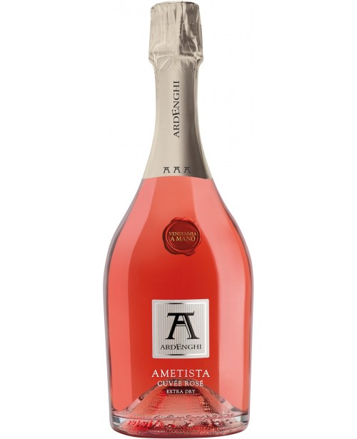 Ardenghi Ametista Cuvee Rose Extra Dry 0.75L Top