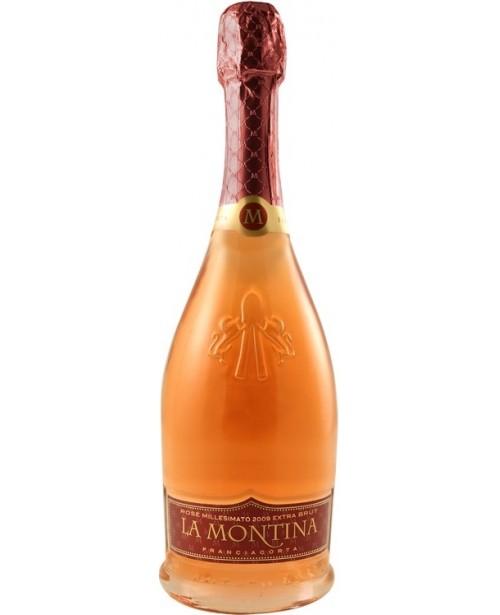 La Montina Franciacorta Rose Millesimato Extra Brut 0.75L Top