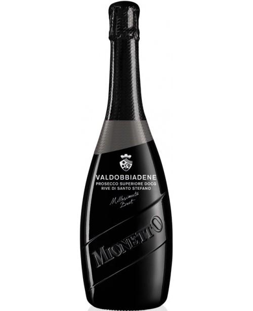 Mionetto Prosecco DOCG Valdobbiadene Rive di Stefano Brut 0.75L Top