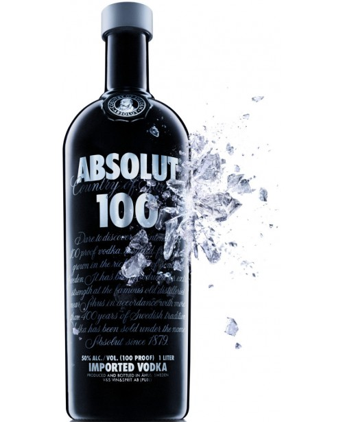 Absolut 100 0.7L Top