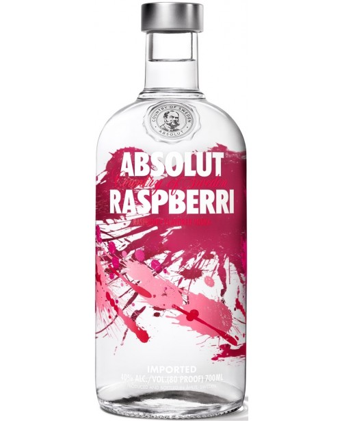 Absolut Raspberry 0.7L Top