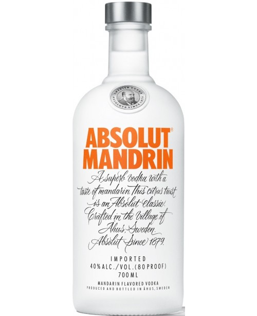 Absolut Mandarin 0.7L Top