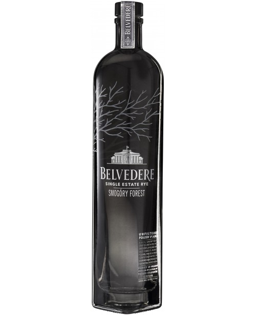 Belvedere Single Estate Rye Smogory Forest  0.7L Top