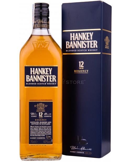 Hankey Bannister 12 Ani Cutie Cadou 0.7L
