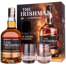 The Irishman Founder's Reserve Cu 2 Pahare 0.7L