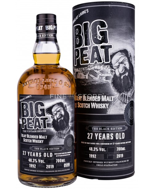 Big Peat The Black Edition 27 Years Old 0.7L