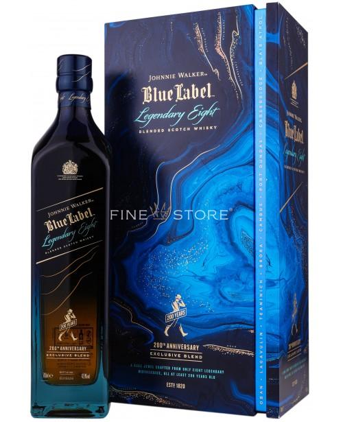 Johnnie Walker Blue Label Legendary Eight 200th Anniversary 0.7L