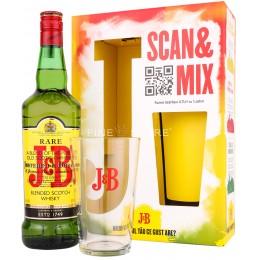 J&B Rare Cu Pahar 0.7L