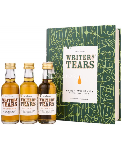 Writers Tears Copper Pot Book Gift Pack 0.15L