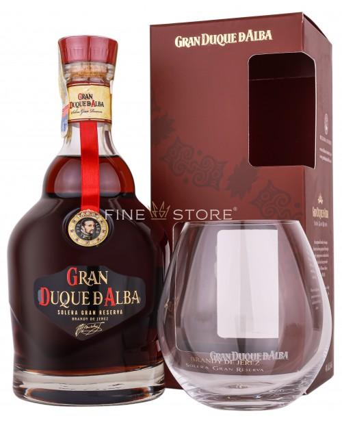 Gran Duque D'Alba Brandy De Jerez Cu Pahar 0.7L
