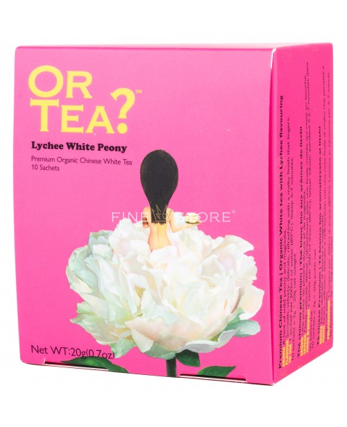 Ceai Organic Or Tea? Lychee White Peony 10 Pliculete