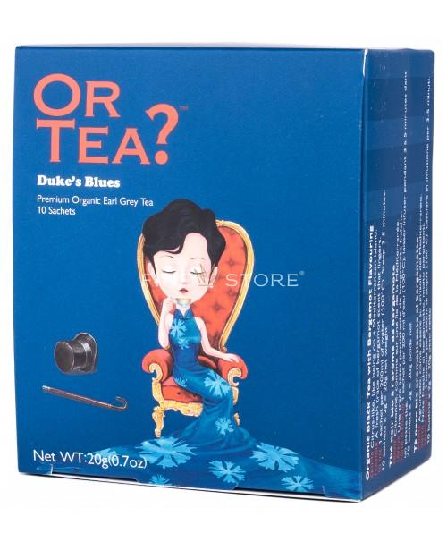 Ceai Organic Or Tea? Duke's Blues 10 Pliculete