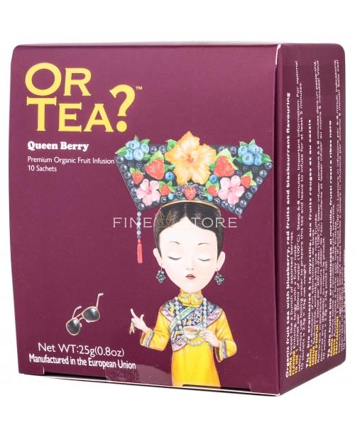 Ceai Organic Or Tea? Queen Berry 10 Pliculete