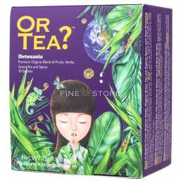 Ceai Organic Or Tea? Detoxania 10 Pliculete