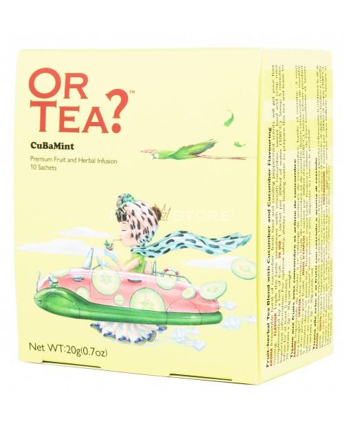 Ceai Or Tea? CuBaMint 10 Pliculete