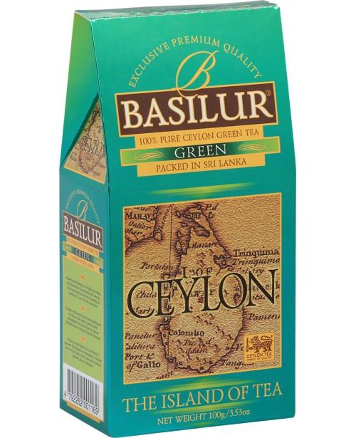 Ceai Basilur Refill Island Of Tea Green 100G