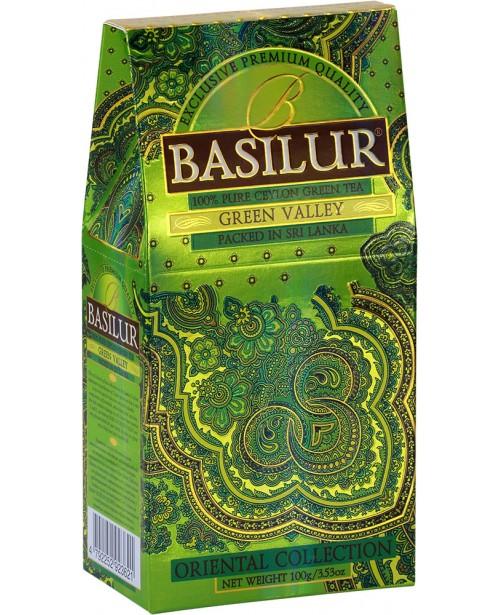 Ceai Basilur Refill Green Valley 100G