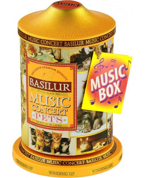 Ceai Basilur Music Concert Pets 100G
