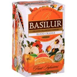 Ceai Basilur Blood Orange 20 Pliculete