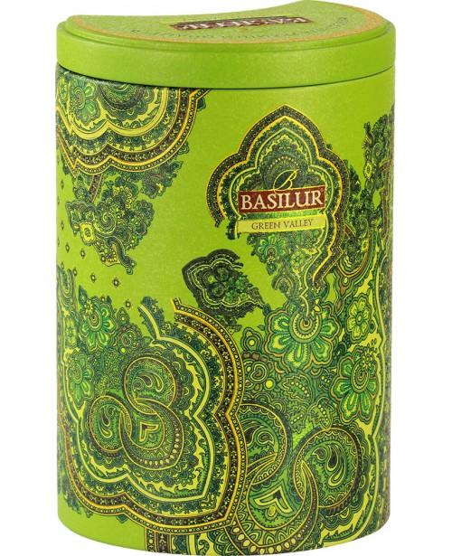 Ceai Basilur Green Valley 100G