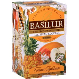 Ceai Basilur Caribbean Cocktail 20 Pliculete