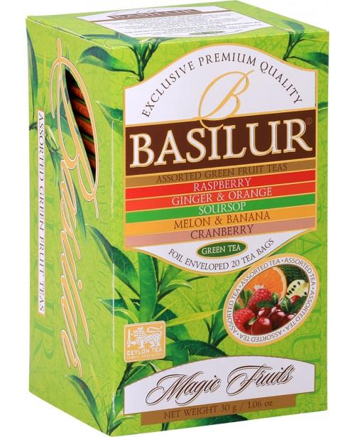 Ceai Basilur Assorted Green 20 Pliculete