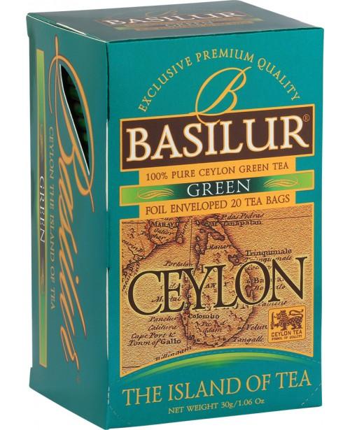 Ceai Basilur Island Of Tea Green 20 Pliculete