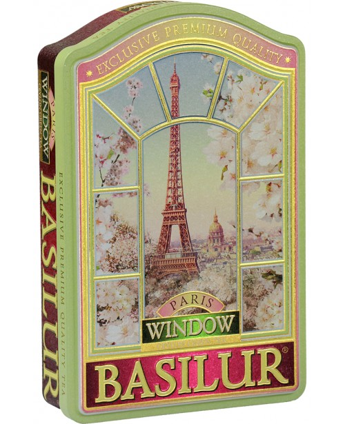 Ceai Basilur Window Paris 100G