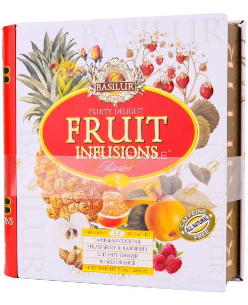 Ceai Basilur Fruity Delight 32 Pliculete