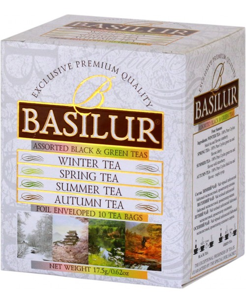 Ceai Basilur Four Season Assorted 10 Pliculete