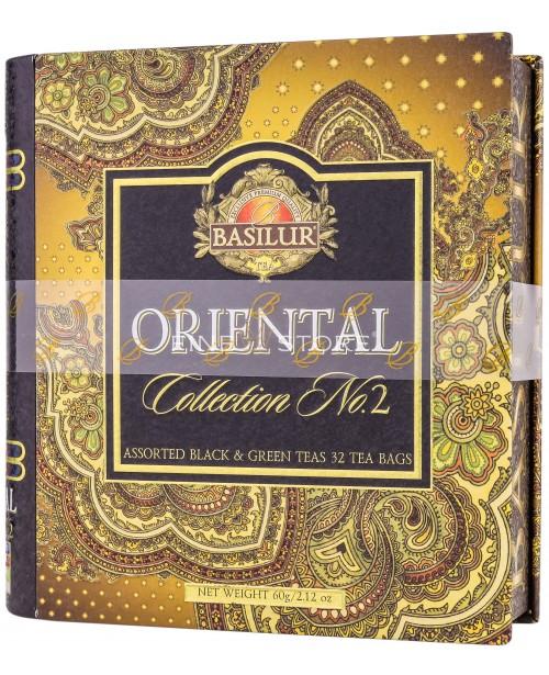Ceai Basilur Oriental Collection Assorted Vol 2 32 Pliculete
