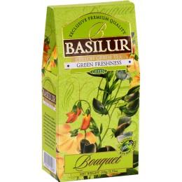 Ceai Basilur Refill Green Freshness 100G