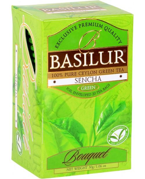 Ceai Basilur Sencha Green 20 Pliculete