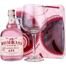 Mombasa Club Strawberry Edition Gin Cu Pahar 0.7L