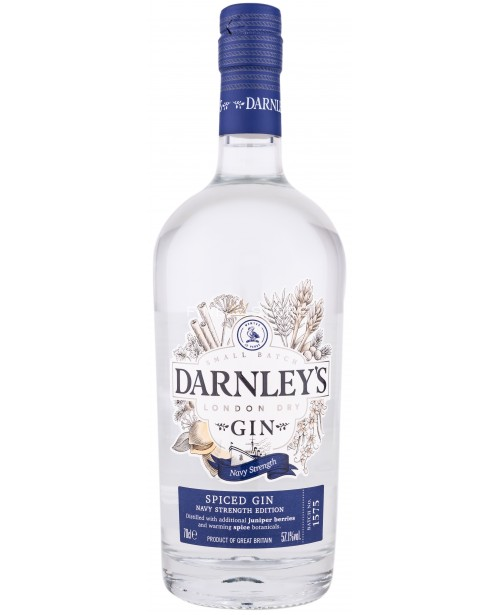 Darnley's Spiced Gin Navy Strength Edition 0.7L